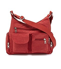 GAL Nylon Hobo Crossbody
