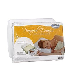 SleepBetter® Peaceful Dreams™ Memory Foam Contour Pillow