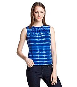 Calvin Klein Pintuck Tie Dye Cami