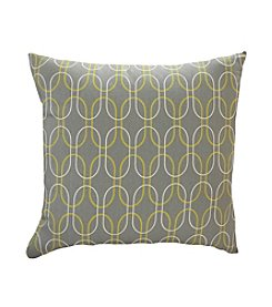 Hallmart Collectibles Hex Oval Set of 2 Pillows