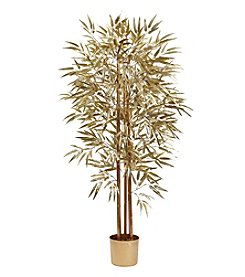 Nearly Natural® 5' Golden Bamboo Tree