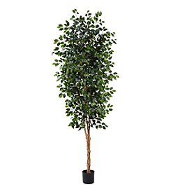 Nearly Natural® 8' Ficus Tree