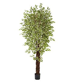 Nearly Natural® 7.5' Variegated Mini Ficus