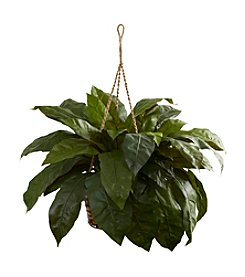 Nearly Natural® Double Giant Bird's Nest Hanging Basket