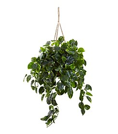 Nearly Natural® Indoor Outdoor Pothos Hanging Basket