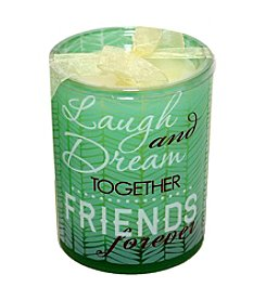 """New View """"Friends Forever"""" Sentiment Candle"""