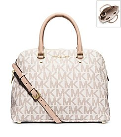 MICHAEL Michael Kors® Cindy Large Dome Satchel