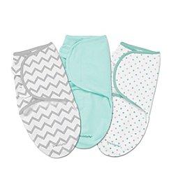 Summer Infant SwaddleMe®  3-Pack Cotton Knit