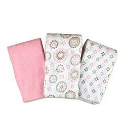 Summer Infant SwaddleMe® 3-Pack Muslin Blanket