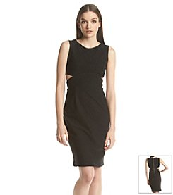 Calvin Klein Cut Out Scuba Dress