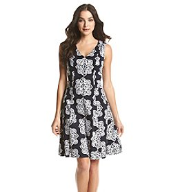 Nine West® Printed Fit And Flare