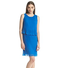 Muse Pleated Popover Dress