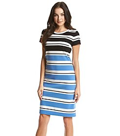 Jones New York® Striped Tee Dress