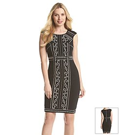 JAX® Beaded Bodycon Dress