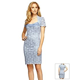 Alex Evenings® Lace And Chiffon Dress