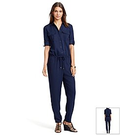 Lauren Ralph Lauren® Petites' Long-Sleeved Jumpsuit