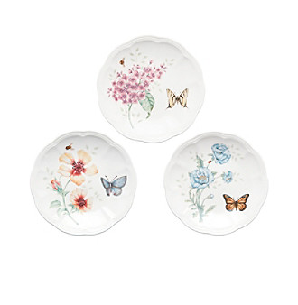"Lenox® Butterfly Meadow® 6"" Party Plates - Set of 6"