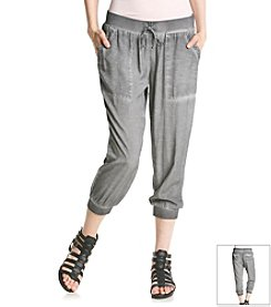 ruff hewn GREY Soft Cropped Jogger Pants