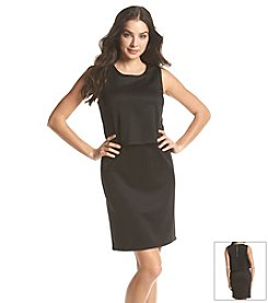 Notations® Solid Sheath Dress