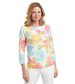 Ruby Rd.® Watercolor Knit Top