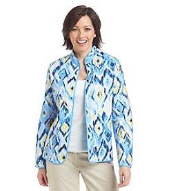 Alfred Dunner® Ikat Print Jacket