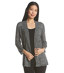 Notations® Mix Stitch Cardigan