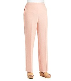 Alfred Dunner® Romancing The Stone Solid Pull On Pants