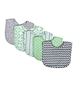 Trend Lab Lauren 5-Pack Bib Set