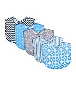 Trend Lab Logan 5-Pack Bib Set