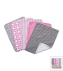 Lily 5-Pack Burp Cloth Bundle Box Set