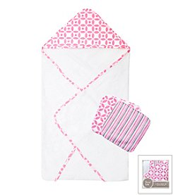 Trend Lab Lily 3-Pack Bath Bundle Box Set