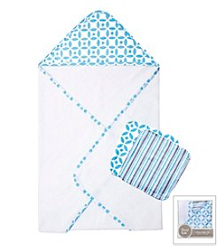 Trend Lab Logan 3-Pack Bath Bundle Box Set