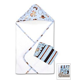 Trend Lab Cowboy Baby 3-Pack Bath Bundle Box Set