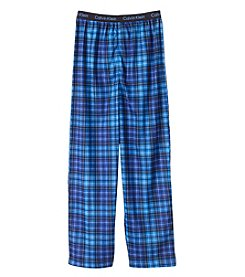 Calvin Klein Boys' 5-16 Plaid Pants