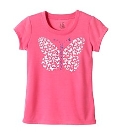 Calvin Klein Girls' 5-16 Butterfly Tee
