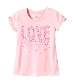 Calvin Klein Girls' 5-16 Love Logo Tee