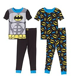Batman® Boys' 2T-4T 4-Piece Batman Set