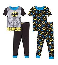 Batman® Boys' 2T-4T 4-Piece Batman Set