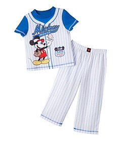 Disney® Boys' 2T-4T 2-Piece Mickey Allstar Baseball Set