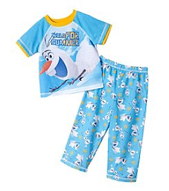 Disney® Boys' 2T-4T 2-Piece Olaf Wild For Summer Set