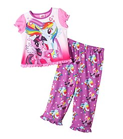 My Little Pony® Girls' 2T-4T 2-Piece My Little Pony Pajama Set