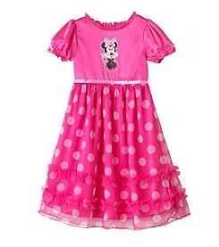 Disney® Girls' 2T-8 Minnie Dressy Gown