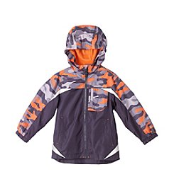 London Fog® Boys' 2T-16 Colorblock Camo Jacket