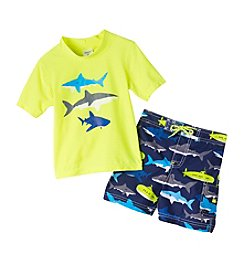 Carter's® Boys' 2T-7 2-Piece Shark Swimset