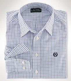 Ralph Lauren Childrenswear Boys' 8-20 Long Sleeve Tattersal Top
