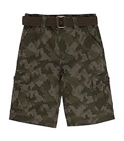 Levi's® Boys' 8-20 Huntingon Belted Cargo Shorts