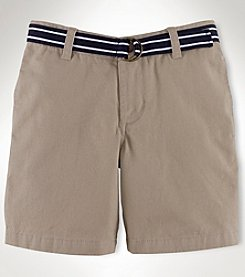 Chaps® Boys' 8-20 Belted Chino Shorts