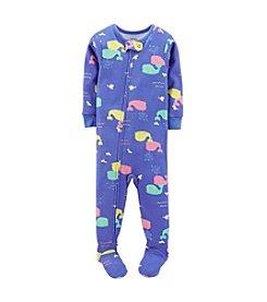 Carter's® Baby Girls' 1-Piece Snug-Fit Cotton Pjs