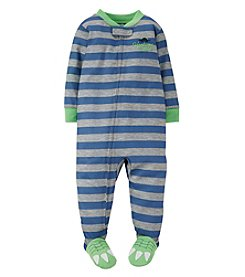 Carter's® Baby Boys' Dinosaur One Piece Footed Pajamas