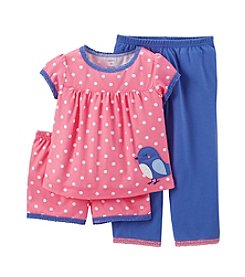 Carter's® Girls' 12M-4T Jersey Pjs